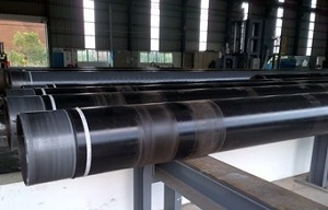 Coating pipes